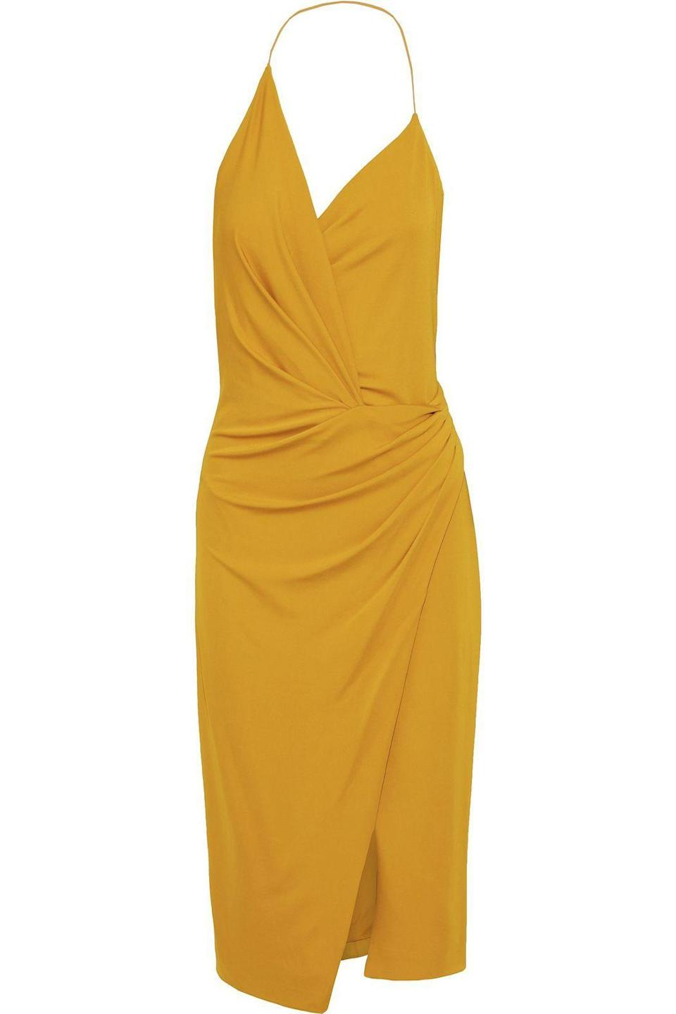 """<p><strong>CUSHNIE</strong></p><p>theoutnet.com</p><p><strong>$328.00</strong></p><p><a href=""""https://go.redirectingat.com?id=74968X1596630&url=https%3A%2F%2Fwww.theoutnet.com%2Fen-gb%2Fshop%2Fproduct%2Fcushnie%2Fdresses%2Fmidi-dress%2Fwrap-effect-stretch-jersey-halterneck-dress%2F665933304664404&sref=https%3A%2F%2Fwww.elle.com%2Ffashion%2Fshopping%2Fg33595007%2Fthe-outnet-clearance-summer-2020-sale%2F"""" rel=""""nofollow noopener"""" target=""""_blank"""" data-ylk=""""slk:Shop Now"""" class=""""link rapid-noclick-resp"""">Shop Now</a></p>"""