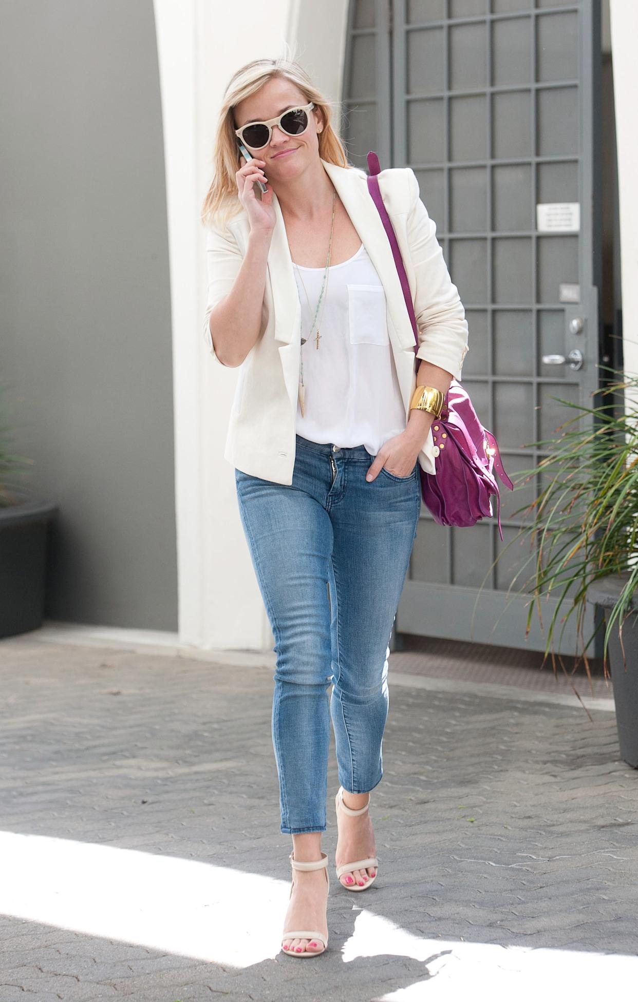 Reese Witherspoon out and about in Los Angeles