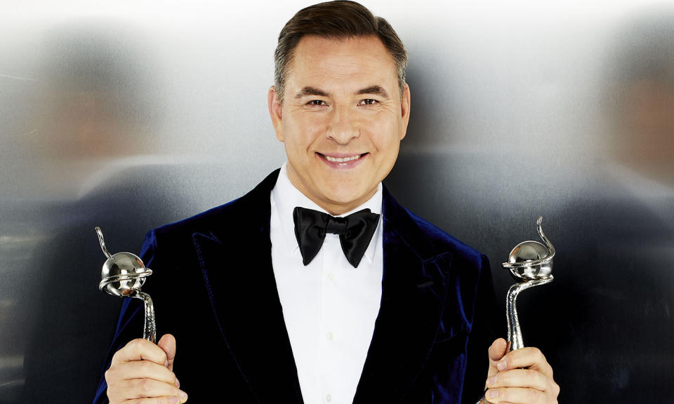 David Walliams hosted the National Television Awards for its 25th Anniversary. (ITV/Nicky Johnson)