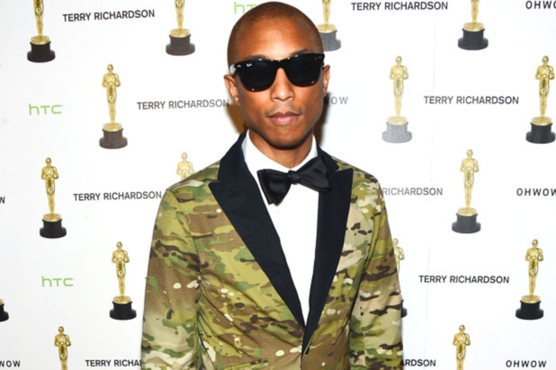 Pharrell Williams Performing 'Happy' at the Oscars