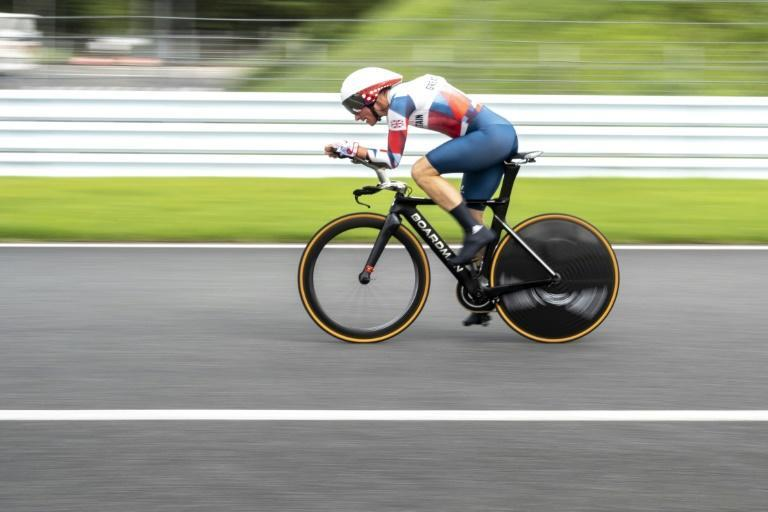 """Unassailable: """"Every corner felt really quick and really smooth,"""" said Britain's Sarah Storey (AFP/CHARLY TRIBALLEAU)"""
