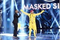 """<p>But it's not a <a href=""""https://eu.usatoday.com/story/life/tv/2019/01/02/masked-singer-review-next-great-reality-singing-show/2463352002/"""" rel=""""nofollow noopener"""" target=""""_blank"""" data-ylk=""""slk:monetary prize"""" class=""""link rapid-noclick-resp"""">monetary prize</a>, like on other competition shows. Instead, the final contestant gets to take home the Golden Mask trophy and, of course, bragging rights.</p>"""