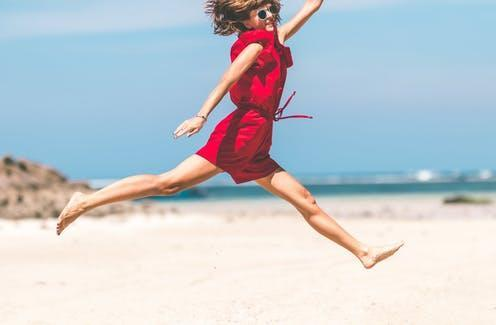 """<span class=""""caption"""">Self-confidence is one of the most important characteristics of a healthy mind.</span> <span class=""""attribution""""><a class=""""link rapid-noclick-resp"""" href=""""https://www.pexels.com/photo/woman-in-red-jumping-1129605/"""" rel=""""nofollow noopener"""" target=""""_blank"""" data-ylk=""""slk:Artem Beliaikin/Pexels"""">Artem Beliaikin/Pexels</a></span>"""