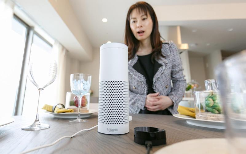 A UN study found that AI-based voice assistants with female voices are helping perpetuate gender biases. - www.Alamy.com
