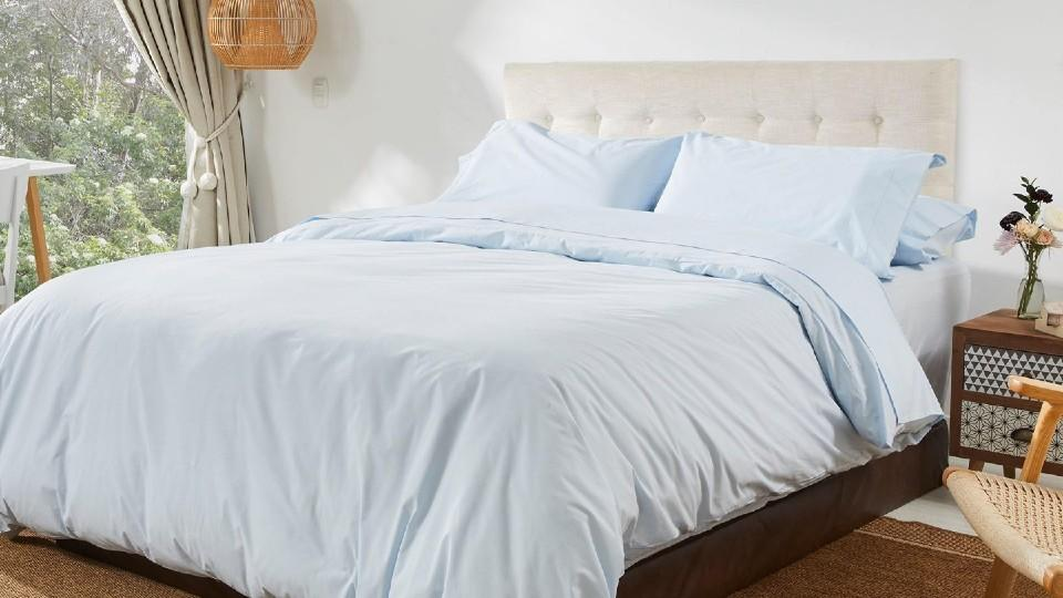 Premium Percale Duvet Set - envello, $178