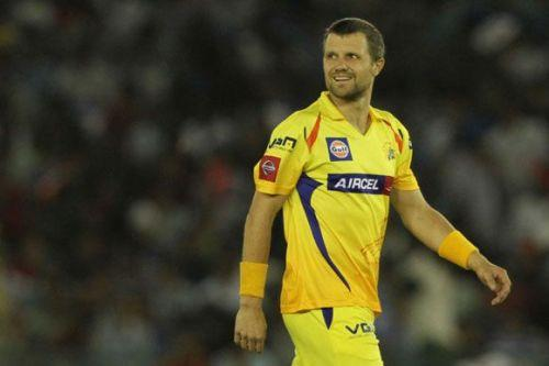 Dirk Nannes was a part of CSK from 2009 to 2013