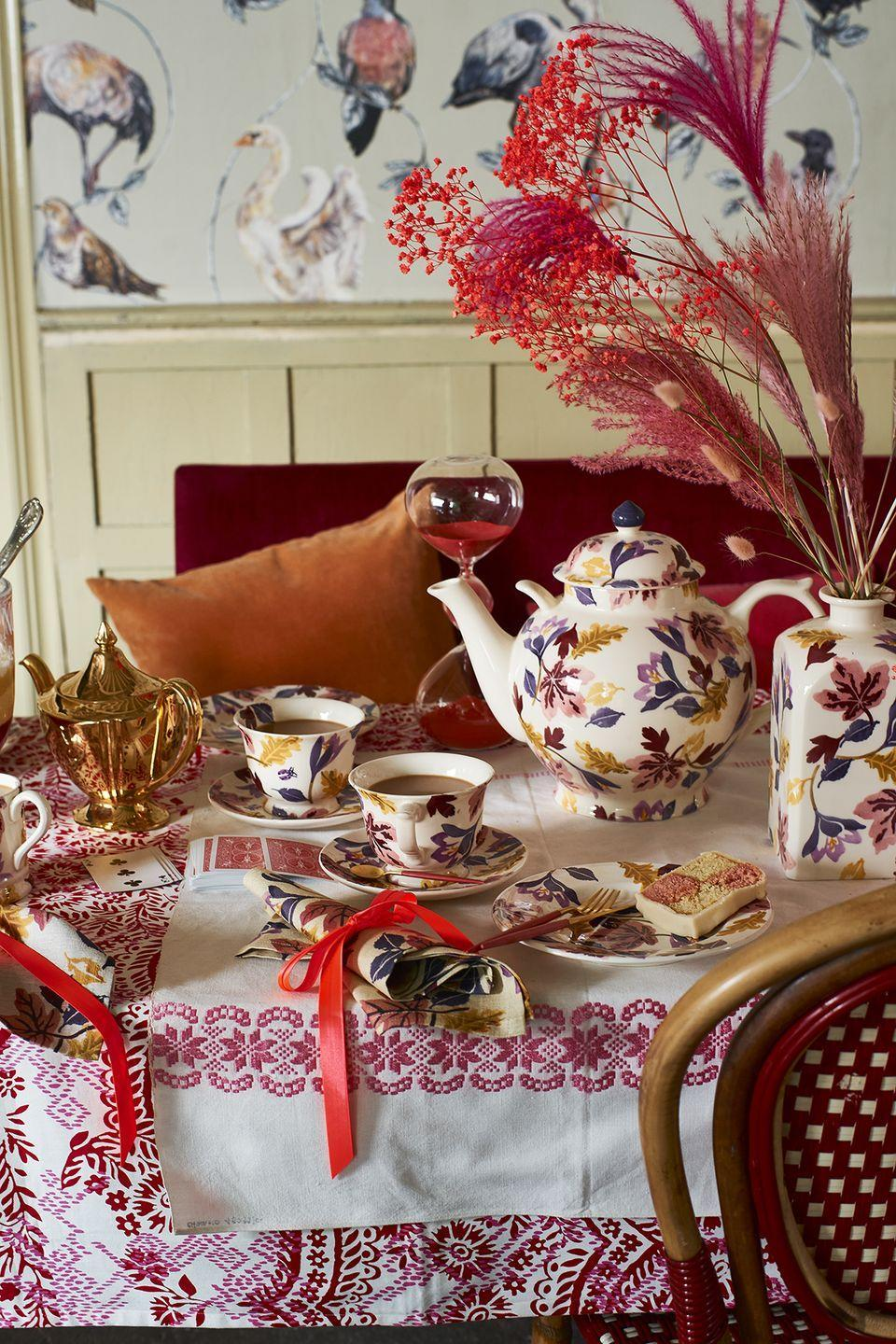 """<p>Available to snap up now, you'll find everything you need for hosting your own tea party. Whether you're after a new mug, serving dish or tablecloth, there's something in the new collection for everyone.</p><p><a class=""""link rapid-noclick-resp"""" href=""""https://go.redirectingat.com?id=127X1599956&url=https%3A%2F%2Fwww.emmabridgewater.co.uk%2Fsearch%3Fview%3Dspring%26q%3DAutumn%2B%25EF%25BB%25BFCrocus&sref=https%3A%2F%2Fwww.housebeautiful.com%2Fuk%2Flifestyle%2Fshopping%2Fg37527696%2Femma-bridgewater-autumn-range%2F"""" rel=""""nofollow noopener"""" target=""""_blank"""" data-ylk=""""slk:SHOP THE RANGE"""">SHOP THE RANGE</a></p>"""