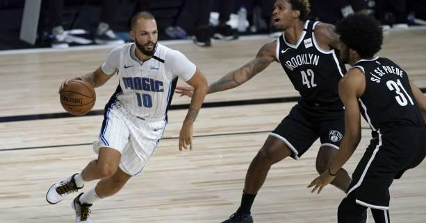 Basket - NBA - NBA : Orlando domine Brooklyn avec 24 points d'Evan Fournier