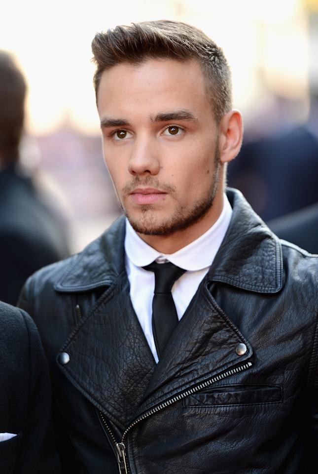 """LONDON, ENGLAND - AUGUST 20: Singer Liam Payne from One Direction attends the """"One Direction This Is Us"""" world premiere at the Empire Leicester Square on August 20, 2013 in London, England. (Photo by Ian Gavan/Getty Images for Sony Pictures)"""