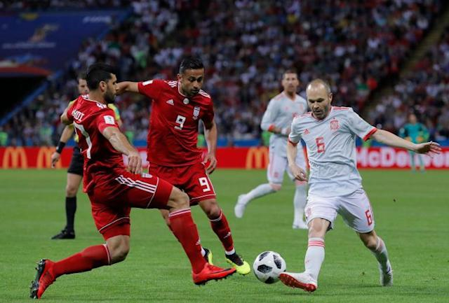 Iran vs Spain LIVE World Cup 2018: Diego Costa scores and VAR denies Iranian equaliser – latest updates