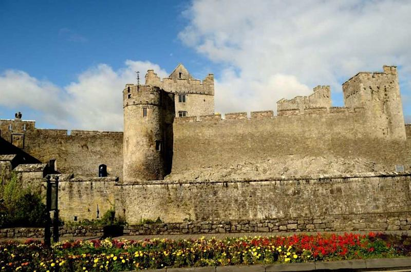 Travel Lakshmi Sharath Ireland Cahir Castle