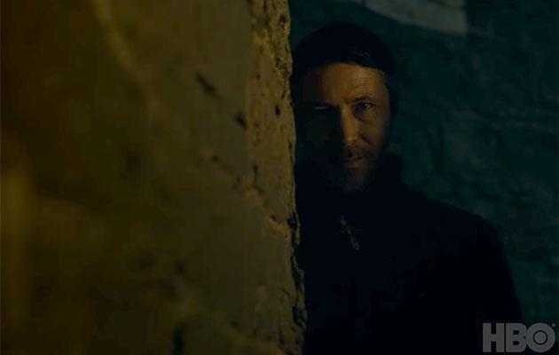 Littlefinger is scheming once again. Source: HBO