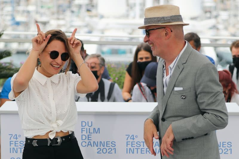 """The 74th Cannes Film Festival - Photocall for the film """"Les Olympiades"""" in competition"""