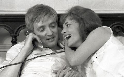 Oskar Werner and Jeanne Moreau in Jules et Jim (1962) - Credit: Film Stills