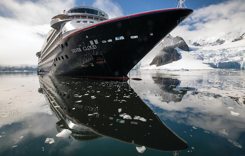 Cruise fans could explore the world on Silversea's luxurious Silver Cloud - BRUNO CAZARINI