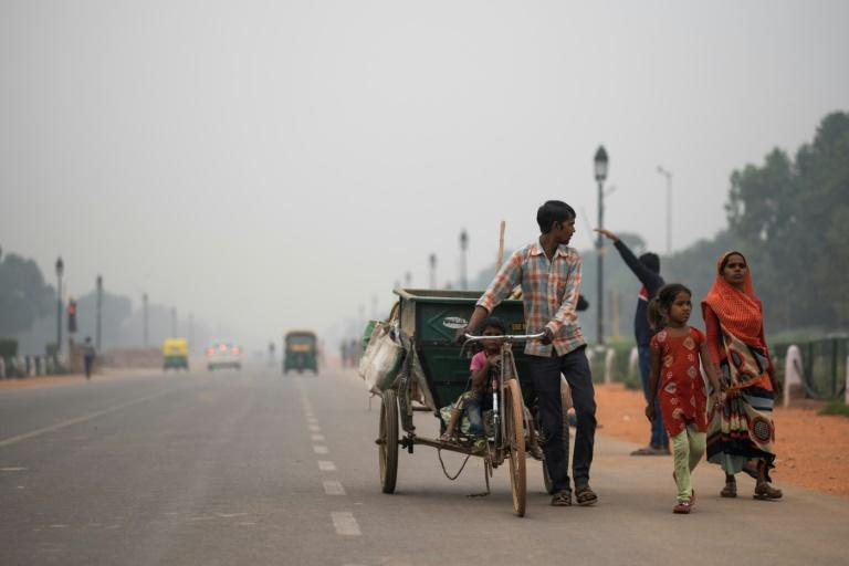 Some rickshaw drivers who earn about $7 a day on an average say they cannot afford masks