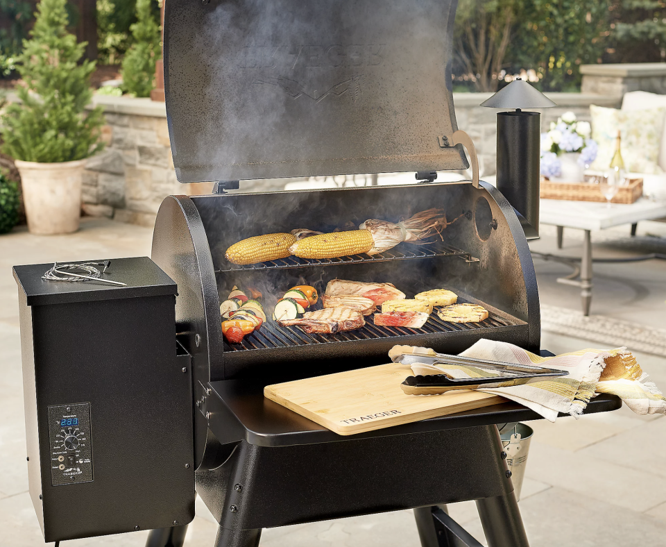 From veggies to fish, kebabs to steaks, a one-stop summer smorgasbord awaits.(Photo: QVC)