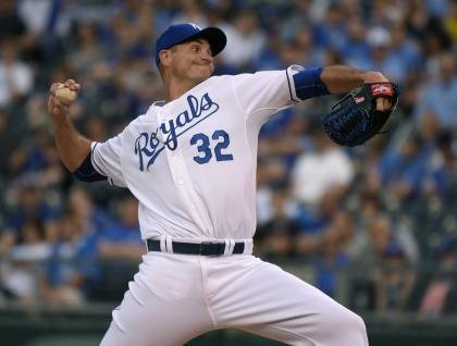 Chris Young threw a hitless five innings against the Tigers in a spot start. (Getty Images)