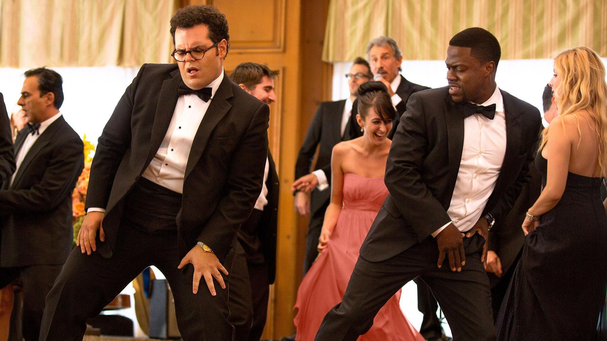 Josh Gad and Kevin Hart in 'The Wedding Ringer' (Screen Gems)