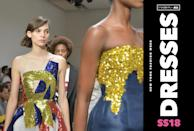 <p><i>See all of the dreamiest dresses from NYFW. (Photo: Getty; Art: Quinn Lemmers for Yahoo Style) </i></p>