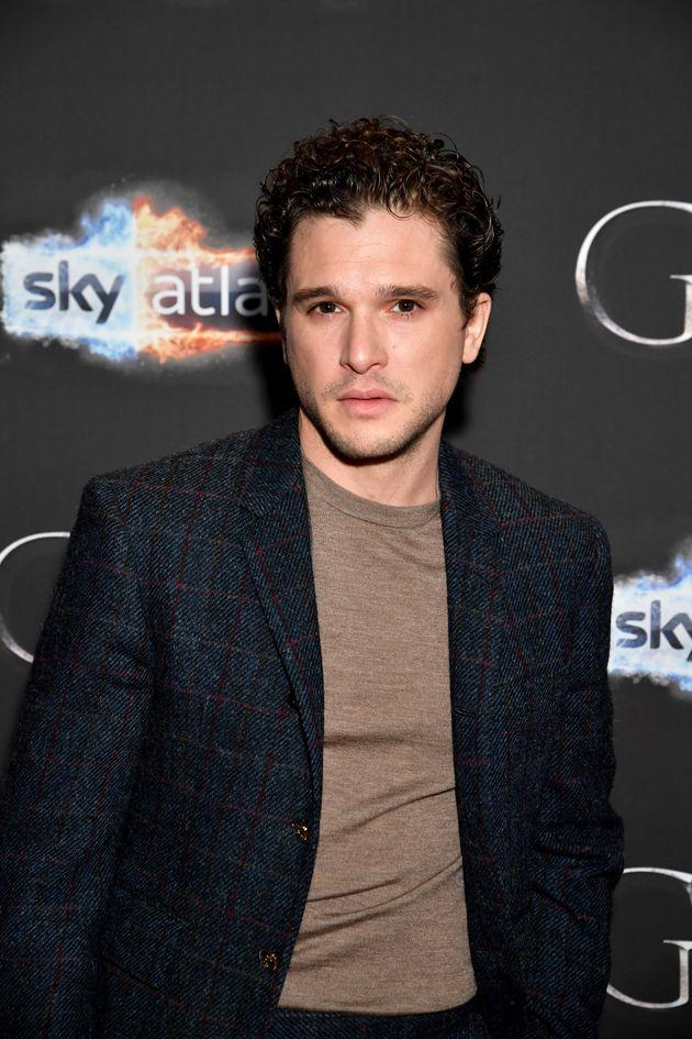 Kit at this year's Game Of Thrones premiere