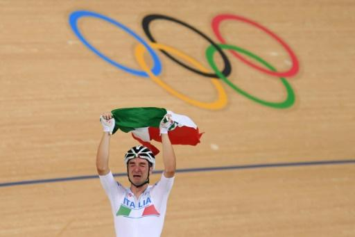 Italy's Elia Viviani won the Men's omnium in Rio but says other things are more important at the moment