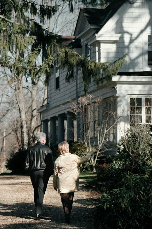 17 things you didn 39 t know about hillary clinton 39 s home in Bill clinton address chappaqua