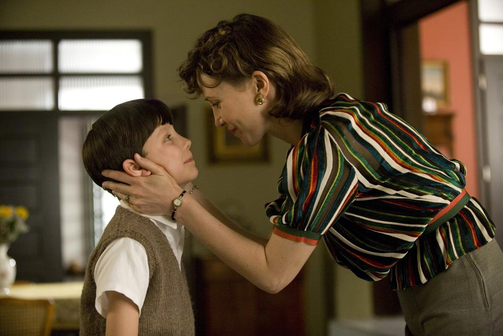 "Asa Butterfield and <a href=""http://movies.yahoo.com/movie/contributor/1800354486"">Vera Farmiga</a> in Miramax's <a href=""http://movies.yahoo.com/movie/1809863912/info"">The Boy in the Striped Pajamas</a> - 2008"