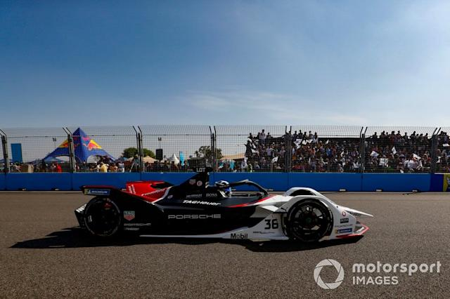 "Andre Lotterer, Porsche, Porsche 99x Electric <span class=""copyright"">Sam Bloxham / Motorsport Images</span>"