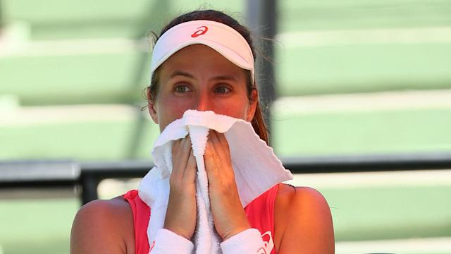 "Johanna Konta said the abusive language which she was subjected to from Ilie Nastase ""snowballed"" and ""got out of hand""."