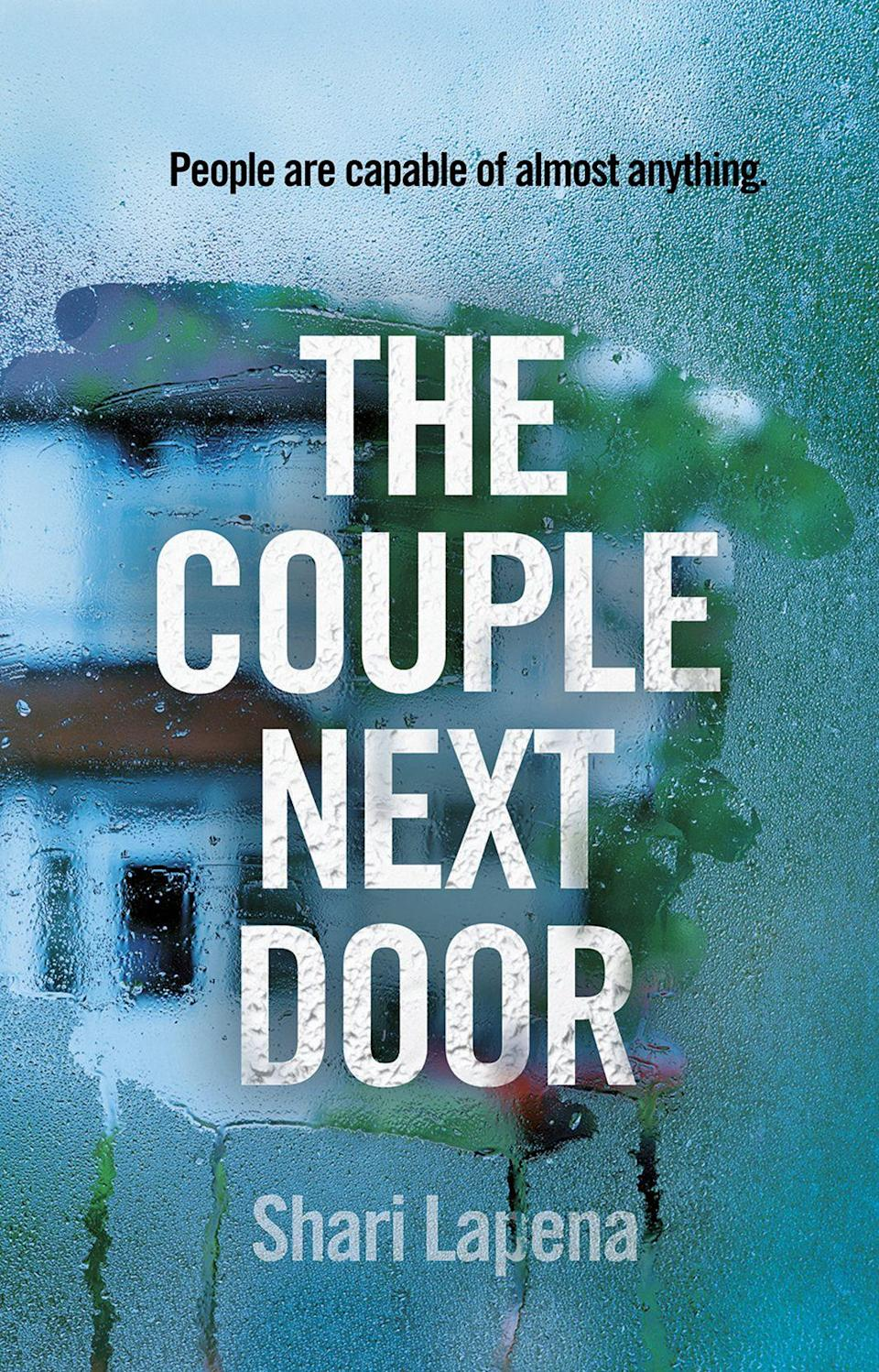 <p><strong><em>The Couple Next Door</em></strong></p><p>By Shari Lapena</p><p>A page-turner for fans of <em>Gone Girl</em>, <em>The Couple Next Door</em> follows Anne and Marco Conti, a couple who seem to have it all: a perfect home, great relationship and a beautiful baby girl – until one night, a frightening crime changes their lives.</p><p>The deeper the investigators delve into the details of the Conti's lives, the clearer it becomes that everything is not as it seems. Expect surprises and secrets – lots of them.</p>