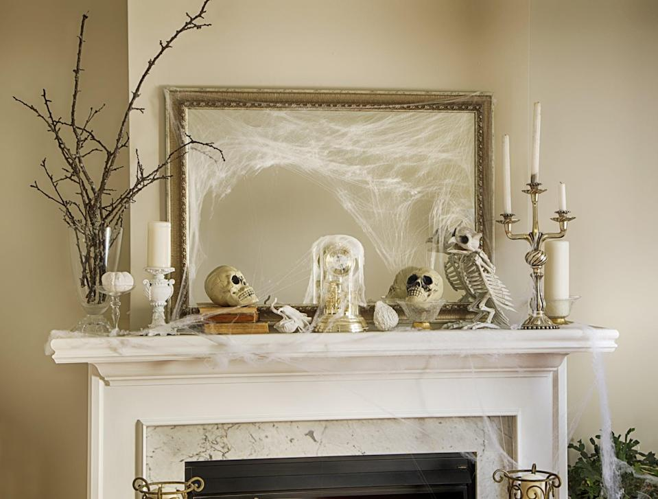 <p>Everyone will compliment (what appears to be) your beautiful mantel display. </p>