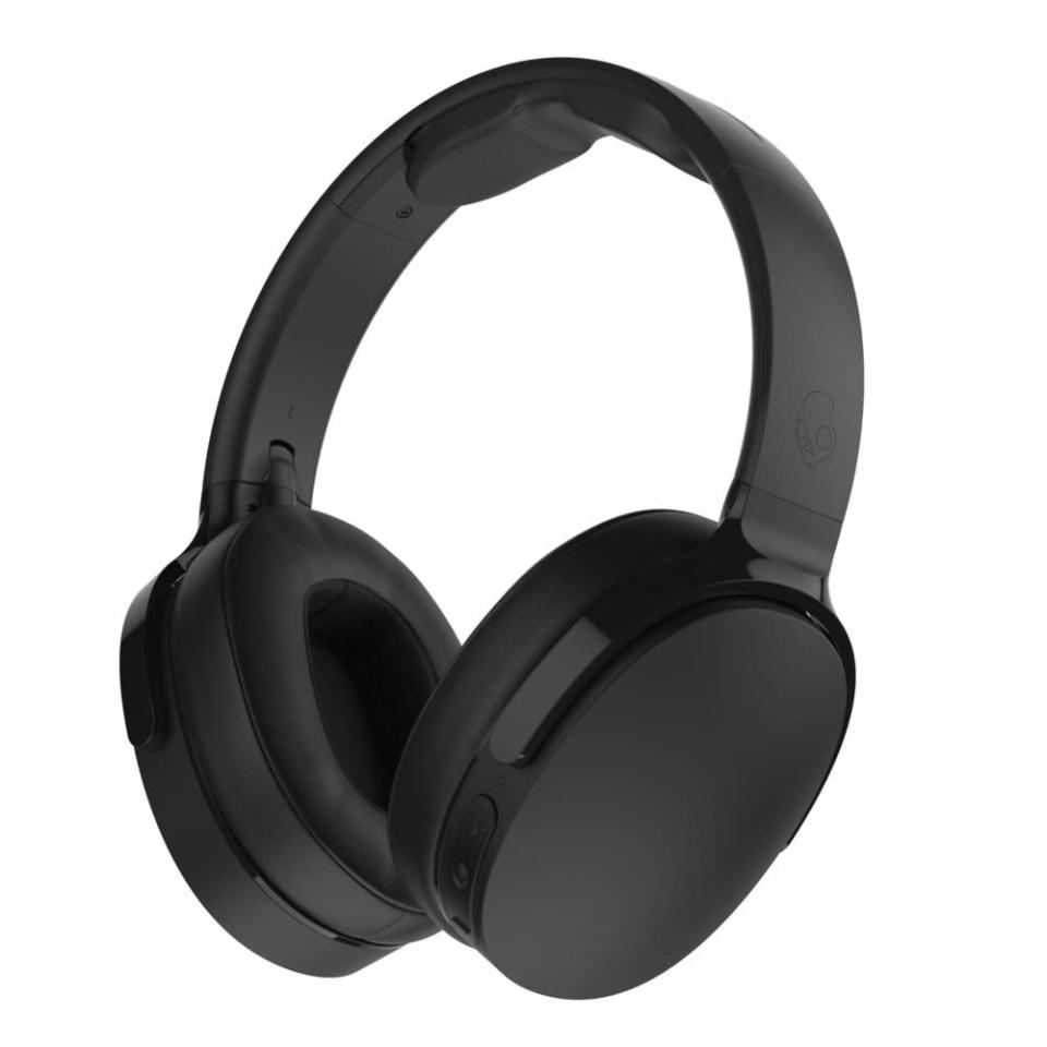 """<p>These Bluetooth phones will graduate someone special from fussy earbuds to total sonic absorption at a relatively modest price. The memory foam pads bring an extra comfortable fit. $129, <a href=""""https://www.skullcandy.com/headphones/wireless-headphones/HESH3BT.html#AclWAiyqVIrfxBbW.97"""" rel=""""nofollow noopener"""" target=""""_blank"""" data-ylk=""""slk:skullcandy.com"""" class=""""link rapid-noclick-resp"""">skullcandy.com</a> </p>"""