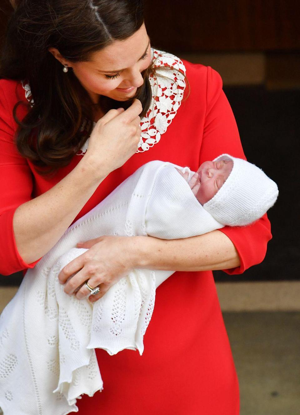 """<p>Baby showers aren't a traditional custom in the United Kingdom. In most cases, friends wait until the baby is born to bring gifts and see the baby. </p><p>RELATED: <a href=""""https://www.goodhousekeeping.com/life/parenting/g5096/royal-family-baby-traditions/"""" rel=""""nofollow noopener"""" target=""""_blank"""" data-ylk=""""slk:Royal Baby Traditions You Didn't Know Existed"""" class=""""link rapid-noclick-resp"""">Royal Baby Traditions You Didn't Know Existed </a></p>"""