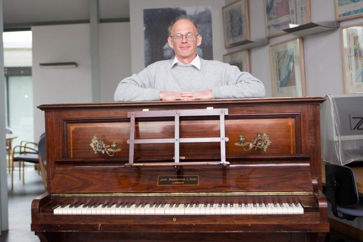 Piano tuner Martin Backhouse is now in line for a surprise payday (Anita Maric/SWNS)
