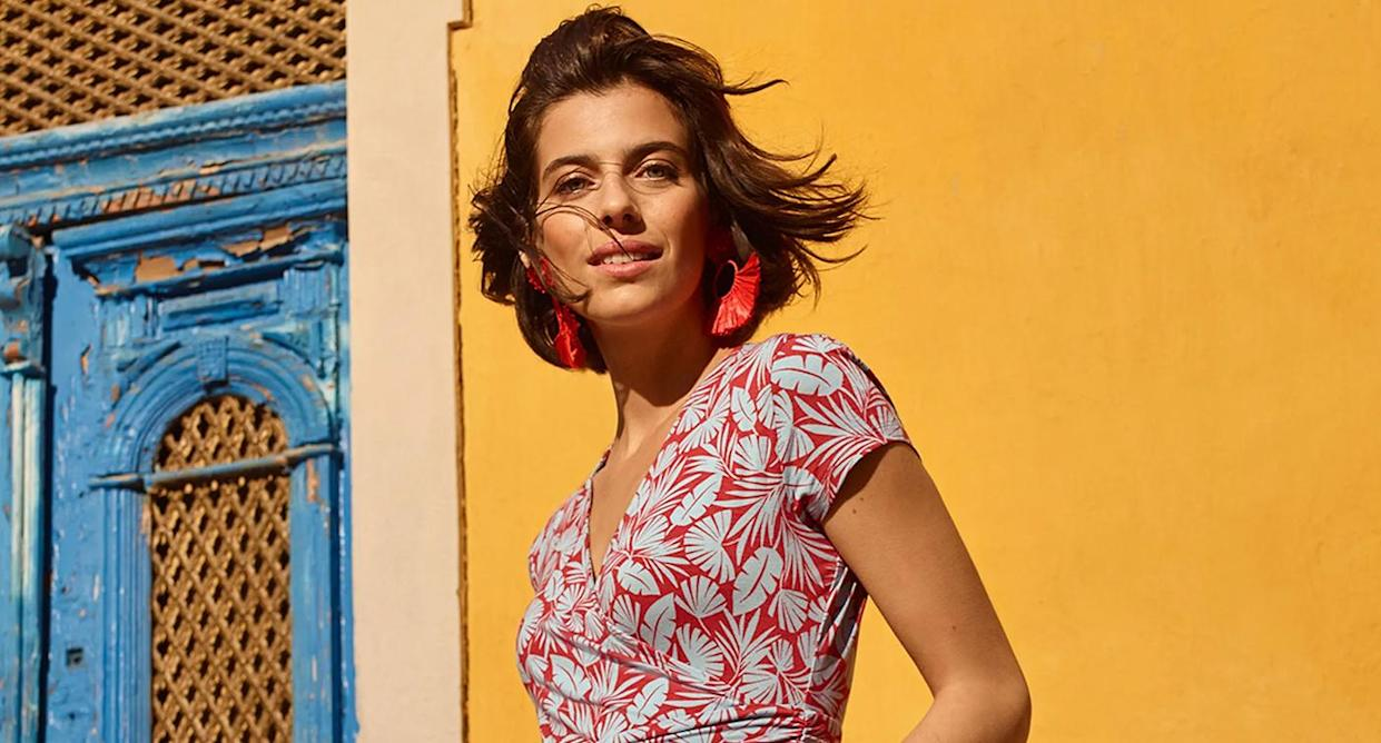 We've found a perfect casual summer dress. (Boden)