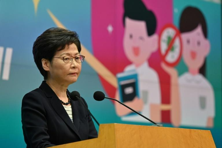 Hong Kong Chief Executive Carrie Lam said the media must not 'subvert' the government