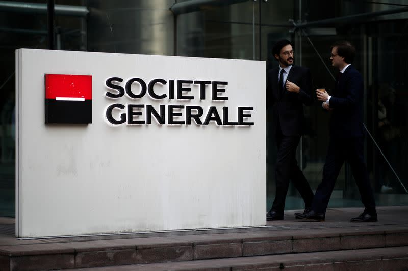 SocGen forecasts muted growth in 2020, set to miss profitability target