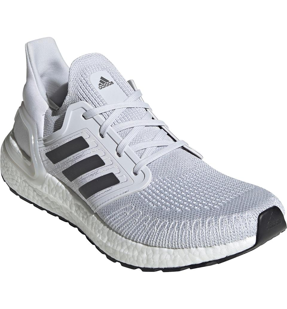 "<p><strong>Adidas</strong></p><p>nordstrom.com</p><p><strong>$144.00</strong></p><p><a href=""https://go.redirectingat.com?id=74968X1596630&url=https%3A%2F%2Fshop.nordstrom.com%2Fs%2Fadidas-ultraboost-20-running-shoe-men%2F5651783&sref=https%3A%2F%2Fwww.esquire.com%2Fstyle%2Fmens-fashion%2Fg32437686%2Fnordstrom-stan-smith-adidas-sale%2F"" rel=""nofollow noopener"" target=""_blank"" data-ylk=""slk:Buy"" class=""link rapid-noclick-resp"">Buy</a></p>Innovative Primeknit+ with Tailored Fibre Placement brings a precision fit to the upper of a lightweight running shoe set on propulsive Boost™ cushioning."