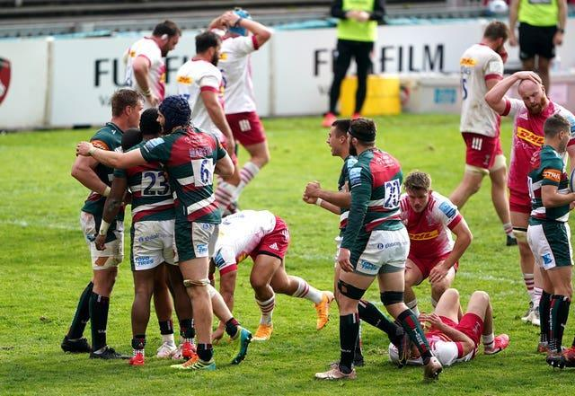 Leicester Tigers vs Harlequins & # x002013;  Premiership Gallagher & # x002013;  Mattioli Woods Welford Road
