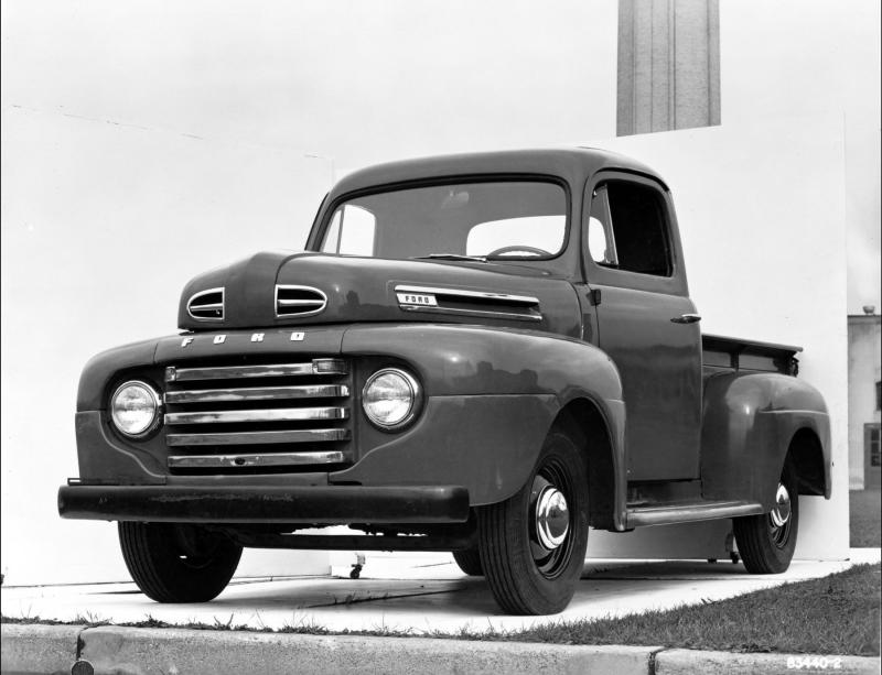 AP PHOTOS: Ford's F-150 pickup truck, then and now