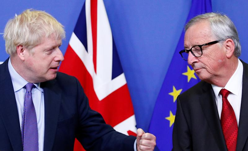 Prime minister Boris Johnson has been accused of telling lies over Brexit by European Commission president Jean-Claude Juncker (Picture: Reuters)