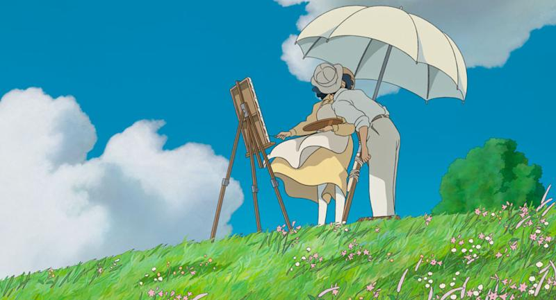 "This image released by Touchstone Pictures shows a scene from the animated film, ""The Wind Rises."" (AP Photo/Touchstone Pictures - Studio Ghibli)"