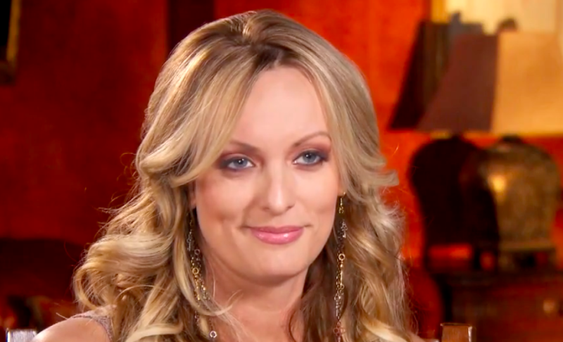 "Stormy Daniels on ""Inside Edition."" (Inside Edition)"
