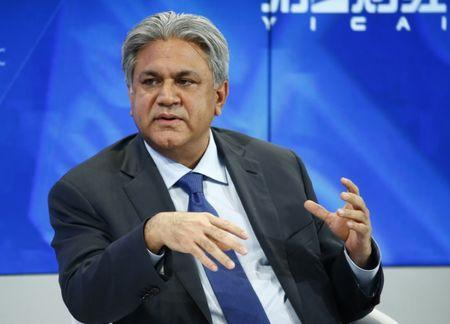 FILE PHOTO -  Naqvi Founder and Group Chief Executive of Abraaj Group attends the annual meeting of the WEF in Davos