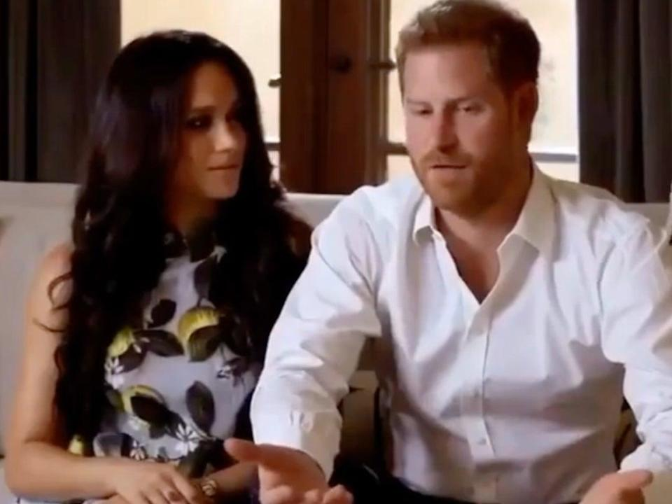The couple appeared at an online event for Spotify to plug their Archewell Audio podcast (Instagram/_duchess_of_sussex)