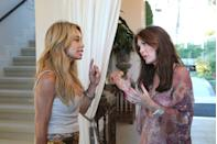 """<p>If you're a """"friend"""" of the Housewives, aka you appear on a few episodes every season, like Faye Resnick on <em>Beverly Hills</em>, you're <a href=""""https://radaronline.com/exclusives/2019/07/vicki-gunvalson-salary-cut-rhoc-demotion/"""" rel=""""nofollow noopener"""" target=""""_blank"""" data-ylk=""""slk:paid per episode"""" class=""""link rapid-noclick-resp"""">paid per episode</a>. Which <em>might </em>explain why Faye always instigates fights and returns on a later episode to address the drama...JUST SAYING.</p>"""