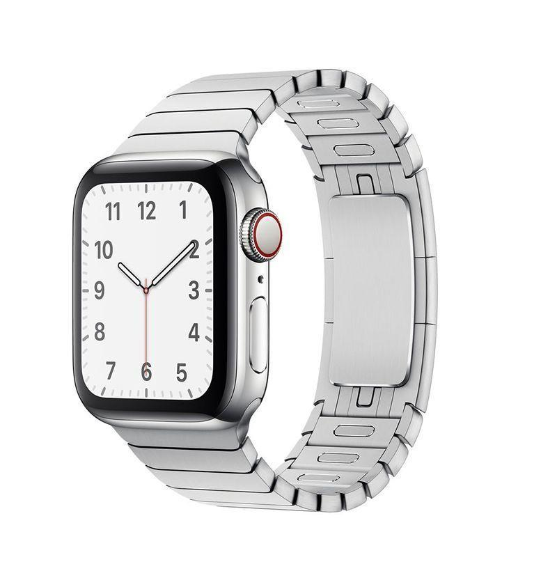 """<p><strong>Apple</strong></p><p>amazon.com</p><p><strong>$349.00</strong></p><p><a href=""""https://www.amazon.com/Apple-Watch-Link-Bracelet-42mm/dp/B07XR5KNWL?tag=syn-yahoo-20&ascsubtag=%5Bartid%7C10054.g.36008308%5Bsrc%7Cyahoo-us"""" rel=""""nofollow noopener"""" target=""""_blank"""" data-ylk=""""slk:Buy"""" class=""""link rapid-noclick-resp"""">Buy</a></p><p>This band, yes, can cost more than the watch itself. According to Apple, it takes almost nine hours to cut the links for a single one of these. But for the most classic look, you've got to go with the Link Bracelet. It's made from the same stainless steel as your watch, easy to add or remove links from, and very comfortable. </p>"""