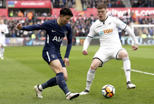 Tottenham cruised past Swansea on Saturday, to reach the FA Cup semi-final