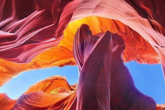 "<p><strong><a href=""https://www.viator.com/tours/Page/Upper-Antelope-Canyon-Ticket/d23393-124350P1"" rel=""nofollow noopener"" target=""_blank"" data-ylk=""slk:Upper Antelope Canyon Ticket"" class=""link rapid-noclick-resp"">Upper Antelope Canyon Ticket</a></strong></p><p><strong>Page, Arizona</strong></p><p>You definitely don't want to miss this spot if you're heading to Arizona. Antelope Canyon, located on Navajo Nation, is known for its rock formations and incredible colors that will make you want to take a million photos. And if you're not into climbing, don't worry: this tour is located at ground level, so it's easy enough for almost anyone. </p>"